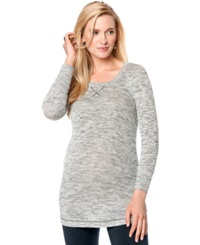 A Pea In The Pod Marled Maternity Tunic