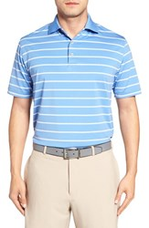 Peter Millar Men's Universal Stripe Jersey Polo