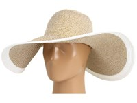 Echo Metallic Floppy Hat White Traditional Hats