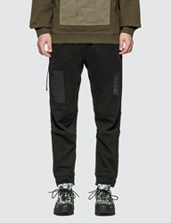 Mhi Maharishi Tech Cargo Sweat Trackpants Black