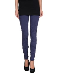 Patrizia Pepe Love Sport Trousers Leggings Women Dark Purple