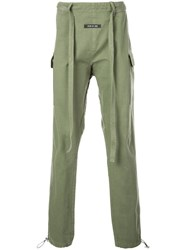 Fear Of God Drawstring Trousers Green