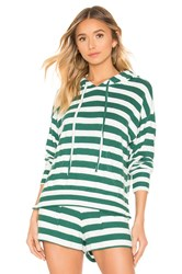 Lna Brushed By Your Side Zip Hoodie Green