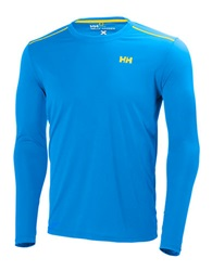 Helly Hansen Long Sleeve Training Top Racer Blue