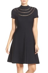 Eliza J Women's Cutout Fit And Flare Dress