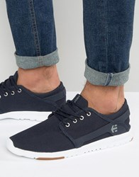 Etnies Scout Trainers Navy