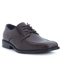 Alfani Proud Bike Toe Oxfords Men's Shoes Brown