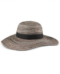 Inc International Concepts Metallic Packable Floppy Hat Only At Macy's Black