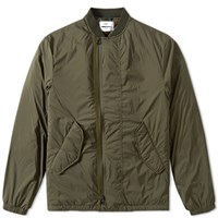 Over All Master Cloth Oamc Lightweight Bomber Green
