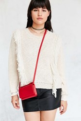 Urban Outfitters Charlotte Phone Crossbody Bag Red