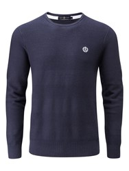 Henri Lloyd Men's Fanellan Regular Crew Neck Navy