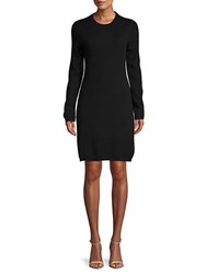 Saks Fifth Avenue Cashmere Shift Sweater Dress Sleet
