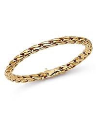 Bloomingdale's Polished Curb Link Bracelet In 14K Yellow Gold 100 Exclusive