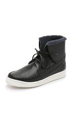 Thakoon Warwick 3 High Top Sneakers Black