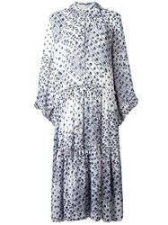 See By Chloe Floral Print Maxi Dress White