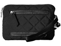 Baggallini Rfid Currency Passport Organizer Black Charcoal Wallet