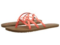 Volcom New School 2 Neon Orange Women's Sandals