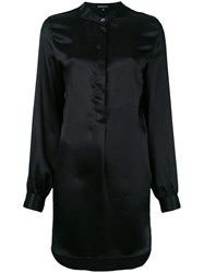 Ann Demeulemeester Mini Shirt Dress Black