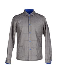 M.Grifoni Denim Coats And Jackets Jackets Men Dove Grey