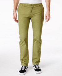 Wesc Men's Eddy Chinos Olive Branch