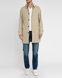 G Star Beige Valdo James Nylon Trench Coat