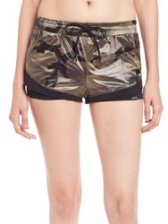 Koral Division Double Layer Shorts Camo