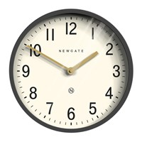 Newgate Master Edwards Wall Clock Blizzard Grey