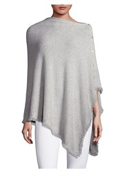 Lilly Pulitzer Harp Cashmere Wrap Oxford Grey