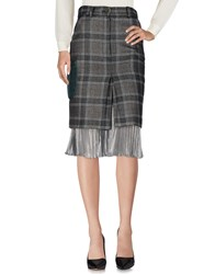Daizy Shely 3 4 Length Skirts Grey