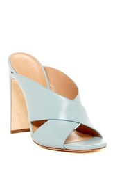 Halston Crystal High Heel Sandal Blue