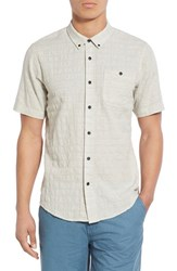Men's Ezekiel 'One Way' Regular Fit Knit Short Sleeve Shirt