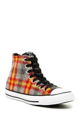 Converse Chuck Taylor High Top Printed Sneaker Unisex Red