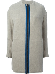 Opening Ceremony 'Scuba' Coat Grey