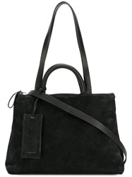 Marsell Classic Shoulder Bag Women Leather Suede One Size Black