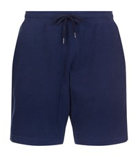 Derek Rose Devon Sweat Shorts Male Navy