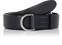 Felisi Men's Grained Leather Belt Navy