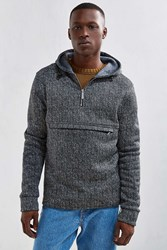 Native Youth Acquisition Hoodie Sweatshirt Grey