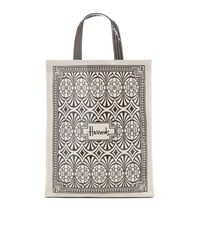 Harrods Medium Art Deco Shopper Bag Unisex