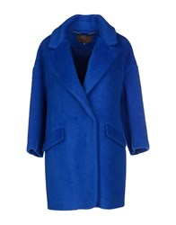 Space Style Concept Coats And Jackets Coats Women Bright Blue