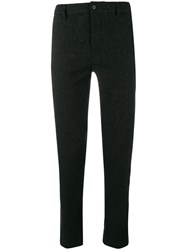 Stephan Schneider Knit Tailored Trousers Grey
