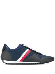 Tommy Hilfiger Panelled Sneakers Blue