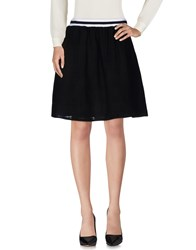 Libertine Libertine Knee Length Skirts Black
