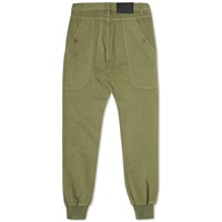 Bleu De Paname Drill Cotton Leisure Pant Khaki