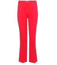 Giambattista Valli Crepe Flared Trousers