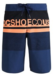 Dc Shoes Layle Swimming Shorts Blue Dark Blue