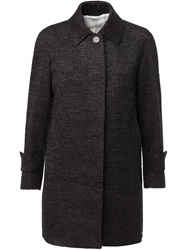 Thom Browne Tweed Coat Black