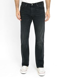 Levi's Black 501 Path Strong Faded Jeans