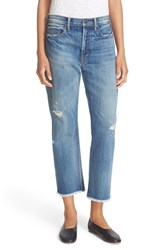 Vince Women's 'Union' Ripped Slouch Jeans Craftsman