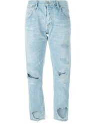 Citizens Of Humanity Distressed Jeans Blue