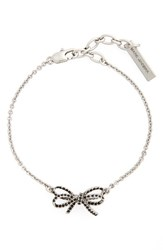 Marc By Marc Jacobs Women's Crystal Bow Line Bracelet
